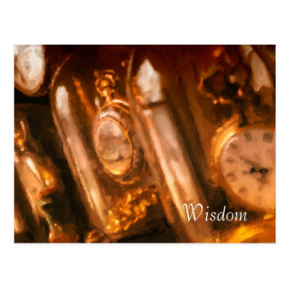 Postal de la colección del reloj