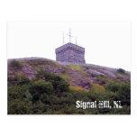 Postal de la colina de la señal