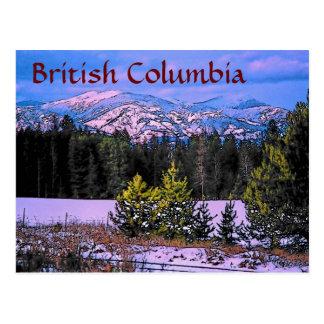 Postal de la Columbia Británica