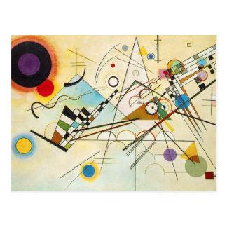 Postal de la composición VIII de Kandinsky