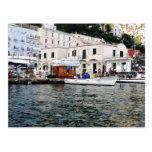 Postal de la costa de Capri