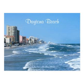 Postal de la costa de Daytona Beach