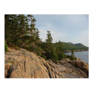 Postal de la costa II del Acadia