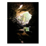 Postal de la cueva de Río Frio