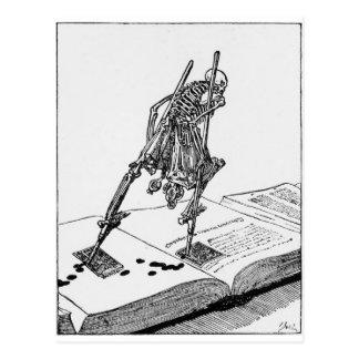 Postal de La Dance de la Mort