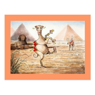 Postal de la danza del camello
