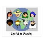 """Postal de la """"diversidad"""""""