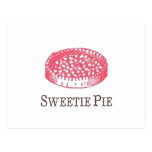 Postal de la empanada del Sweetie
