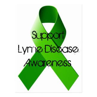 Postal de la enfermedad de Lyme