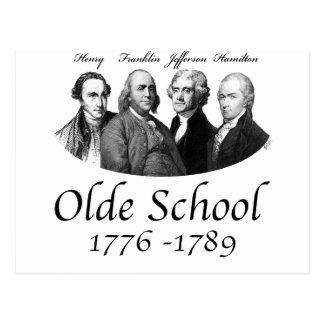 Postal de la escuela de Olde