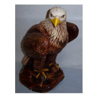 Postal de la escultura de Eagle