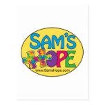 Postal de la esperanza de Sam's
