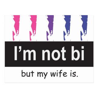 Postal de la esposa del BI