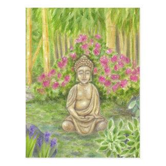 Postal de la estatua de Buda