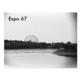 Postal de la expo 67