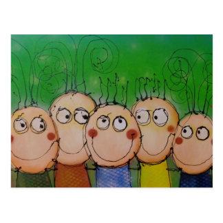 """postal de la """"familia"""""""