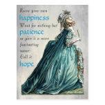 Postal de la Felicidad-Paciencia-Esperanza