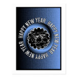 Postal de la Feliz Año Nuevo 2