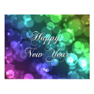 Postal de la Feliz Año Nuevo
