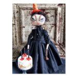 Postal de la fiesta de cumpleaños de Lizzie