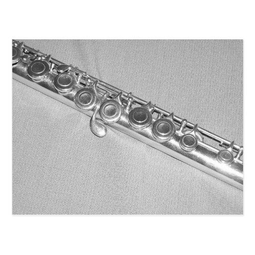 Postal de la flauta