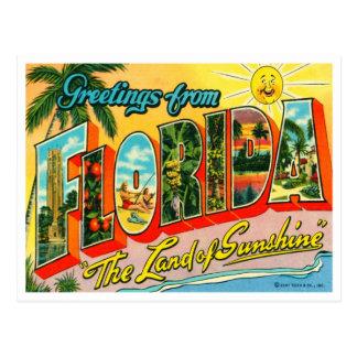 Postal de la Florida del vintage