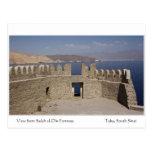 Postal de la fortaleza del EL-Dinar de Salah