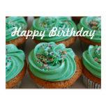 Postal de la foto del cumpleaños de las magdalenas