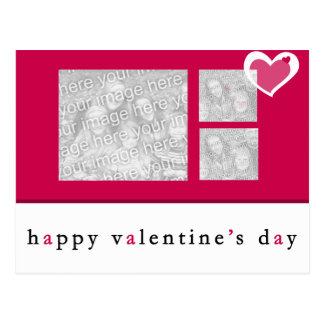 Postal de la foto del día de San Valentín