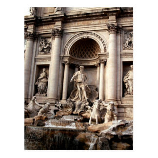 Postal de la fotografía del viaje de Roma de la