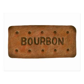 Postal de la galleta de Borbón