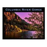 Postal de la garganta del río Columbia
