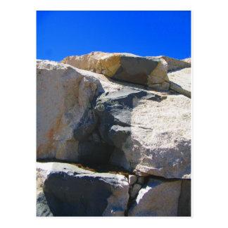 Postal de la geología del dique de la roca del bas