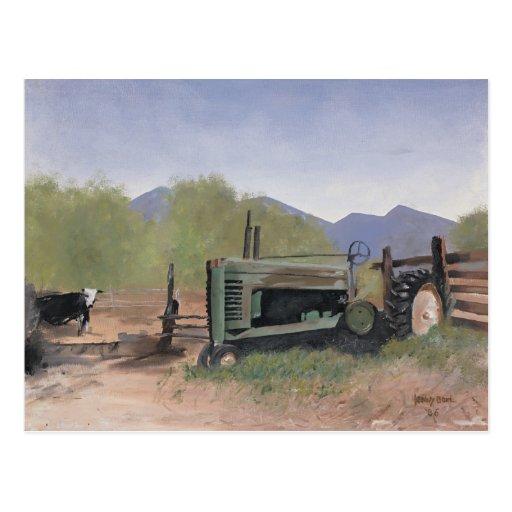 Postal de la granja del condado de Utah