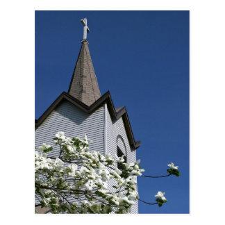 Postal de la iglesia de la paz