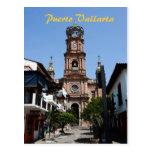 Postal de la iglesia de Puerto Vallarta