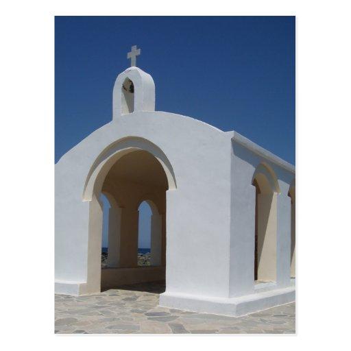 Postal de la iglesia griega
