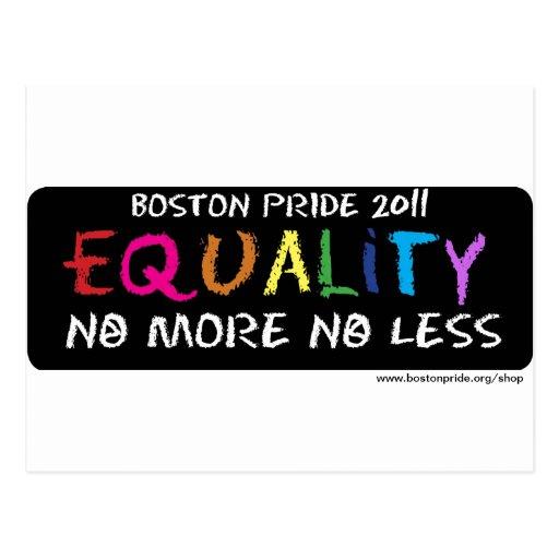 Postal de la igualdad