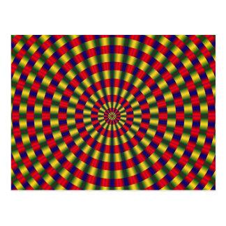 Postal de la ilusión óptica 1