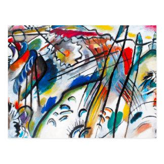 Postal de la improvisación 28 de Kandinsky