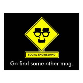 Postal de la ingeniería social