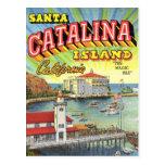 Postal de la isla de Catalina