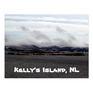 Postal de la isla de Kelly NL