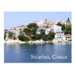 Postal de la isla de Skiathos, Grecia