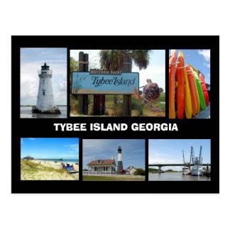 Postal de la isla de Tybee, Georgia