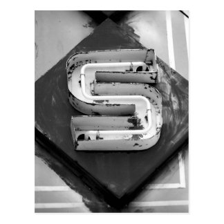 Postal de la letra S