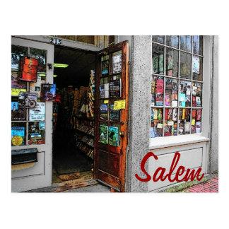 Postal de la librería de Salem