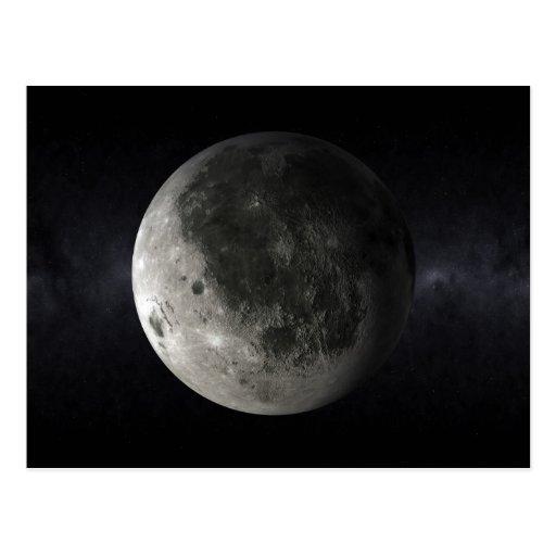 Postal de la luna