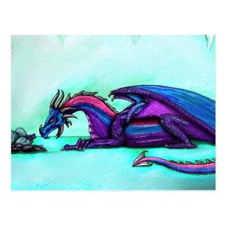 Postal de la madre del dragón