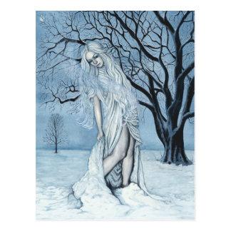 Postal de la magia del invierno